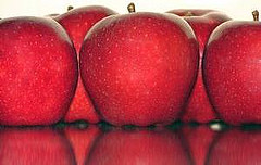 Apples high in antioxidants