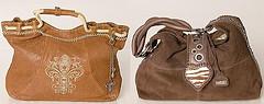 Stylish fashionable handbags