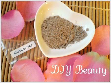 DIY Beauty: Rhassoul clay for oily thin hair
