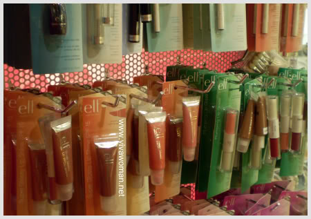 E.L.F. Cosmetics at Sasa outlets