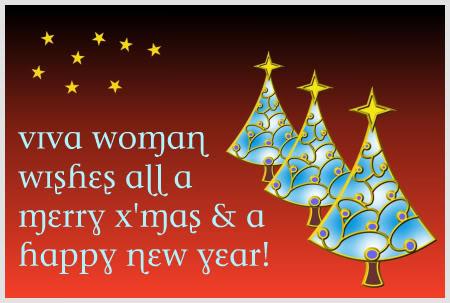 Happy Holidays from Viva Woman