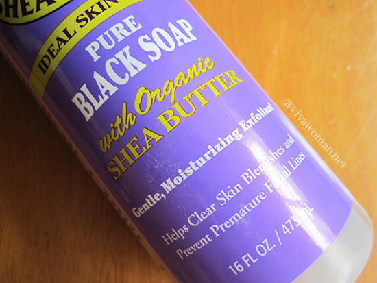 Dr. Woods Shea Vision Pure Black-Soap with Organic Shea Butter