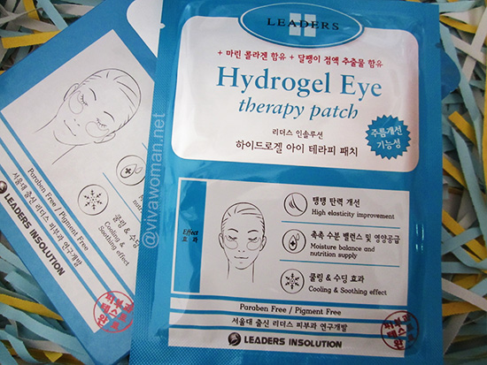 Eye focus: Leaders Insolution Hydrogel Eye Therapy Patch