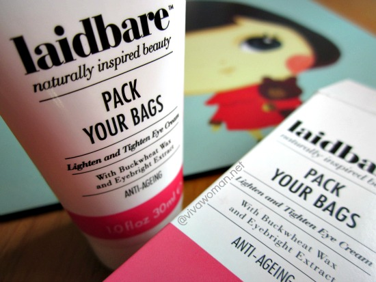 Laidbare Pack Your Bags Tighten And Lighten Eye Cream
