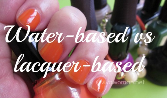 benefits of water-based nail polish