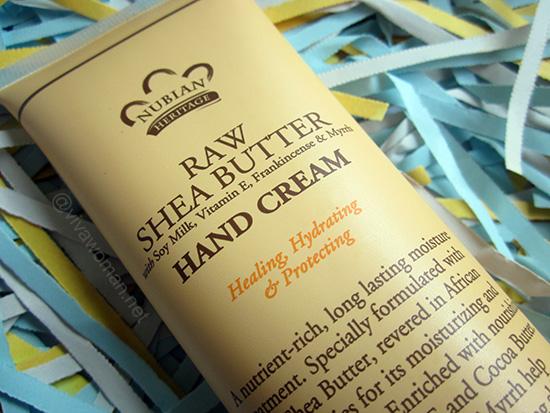Uninspiring Nubian Heritage Raw Shea Butter Hand Cream