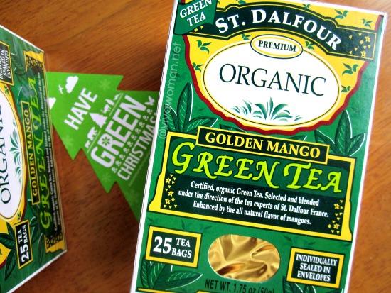 St Dalfour Tea Organic Green