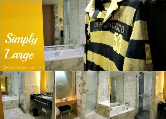 Bathroom Grand Hyatt Singapore