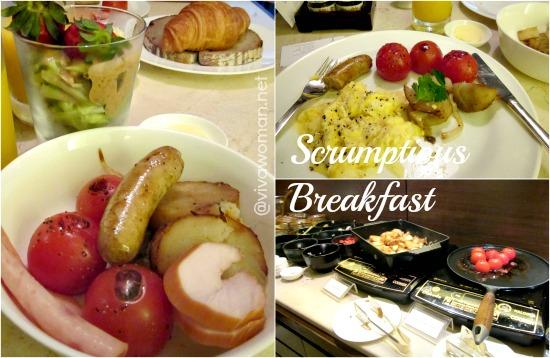 Scrumptious Breakfast Grand Hyatt Singapore