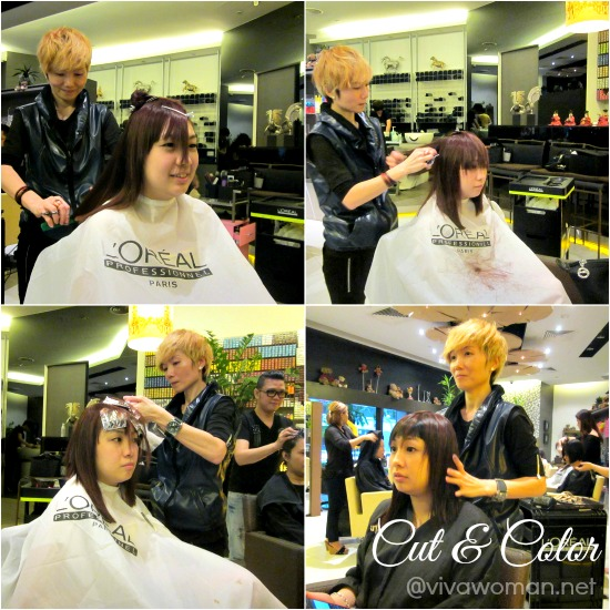 Haircut Haircolor Backstage Hair Salon