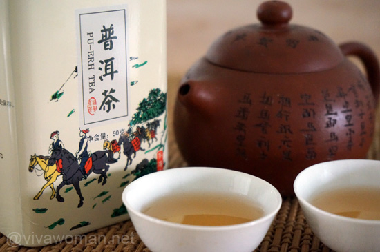 Drink, wash and look years younger with Pu-Erh tea