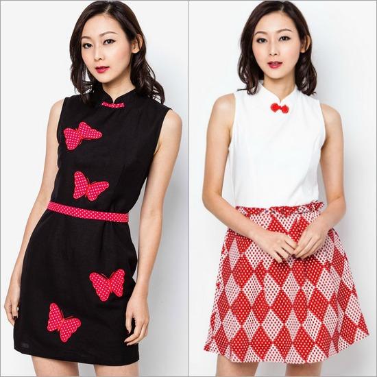 trendy cheongsam