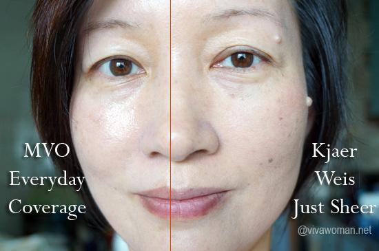 Half Face Kjaer Weis Cream Foundation