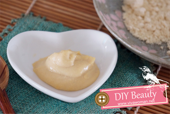 DIY Beauty: garbanzo bean flour brightening face mask