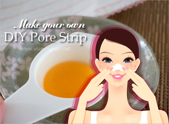 DIY Beauty: how to make your own nose pore strip