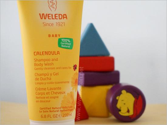 Weleda Baby Calendula Baby Shampoo & Body Wash
