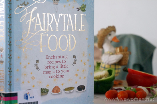 fairy tale food book