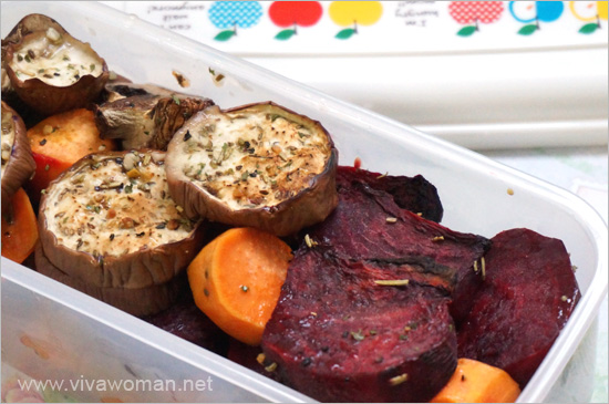 Eggplant-Beetroot-Lunchbox