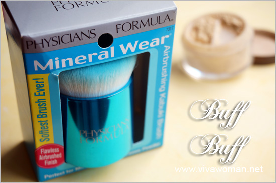 Physicians Formula Mineral Wear Airbrushing Kabuki Brush
