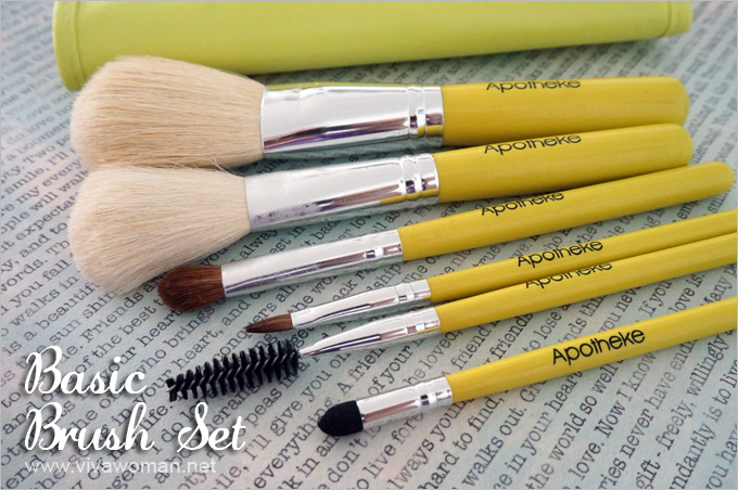 Apotheke-Basic-Brush-Set