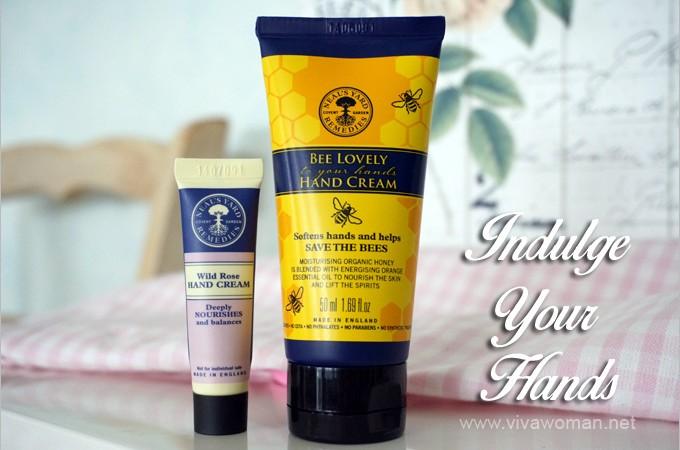 Neal's Yard Bee Lovely & Wild Rose Hand Creams