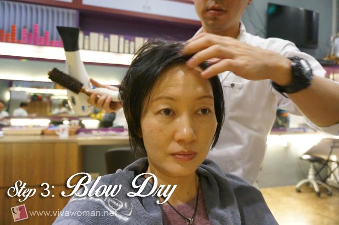 Kinessences-Beauty-Hair-Treatment-Blow-Dry