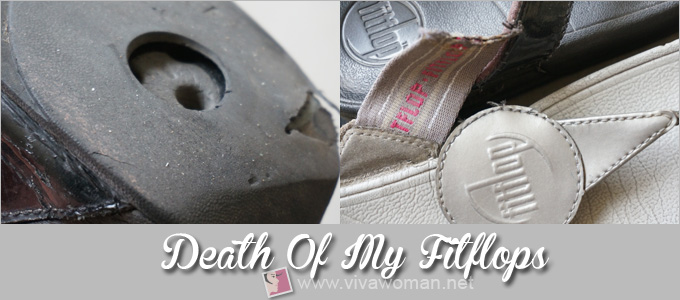 Fitflop worn to death