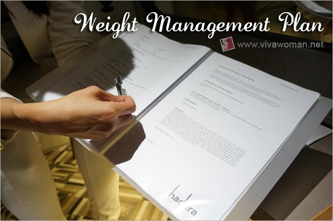 Weight Management Plan