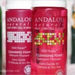 Andalou Naturals 1000 Roses Cleansing Foam