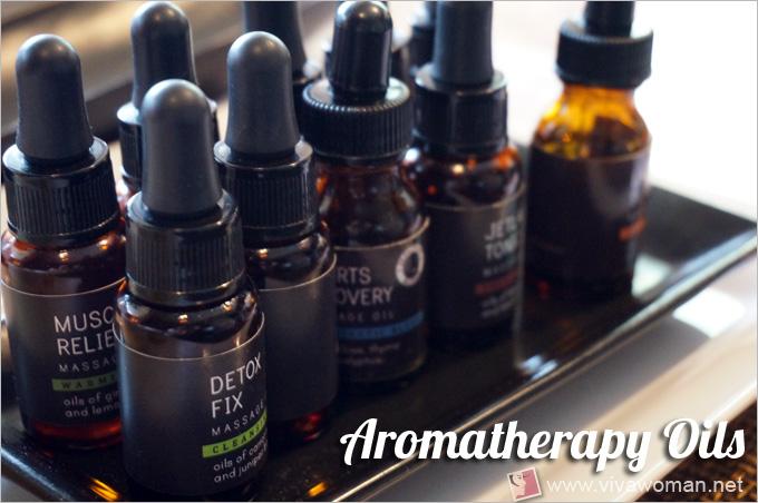 Lush Spa Aromatherapy Choices
