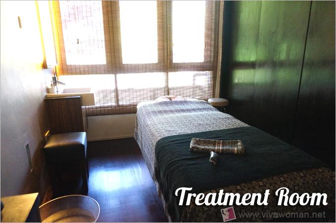 Lush Spa Treatment Room