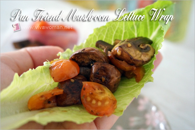 Mushroom Lettuce Wrap