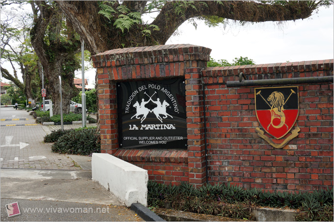 Singapore Polo Club Entrance