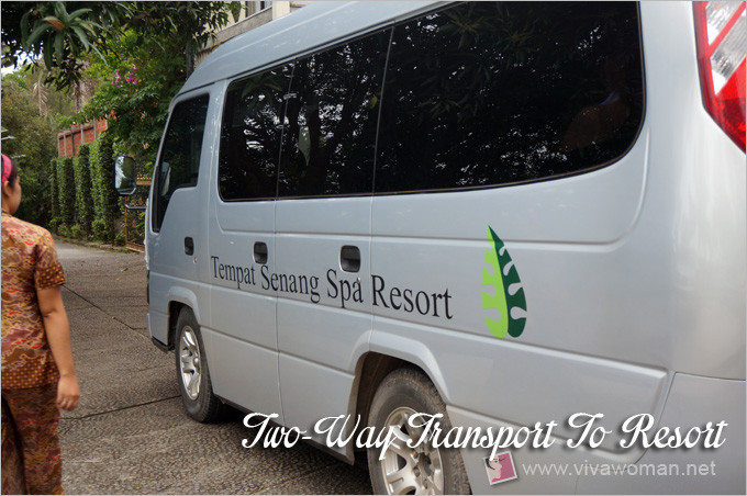 Tempat Senang Spa Resort Transport