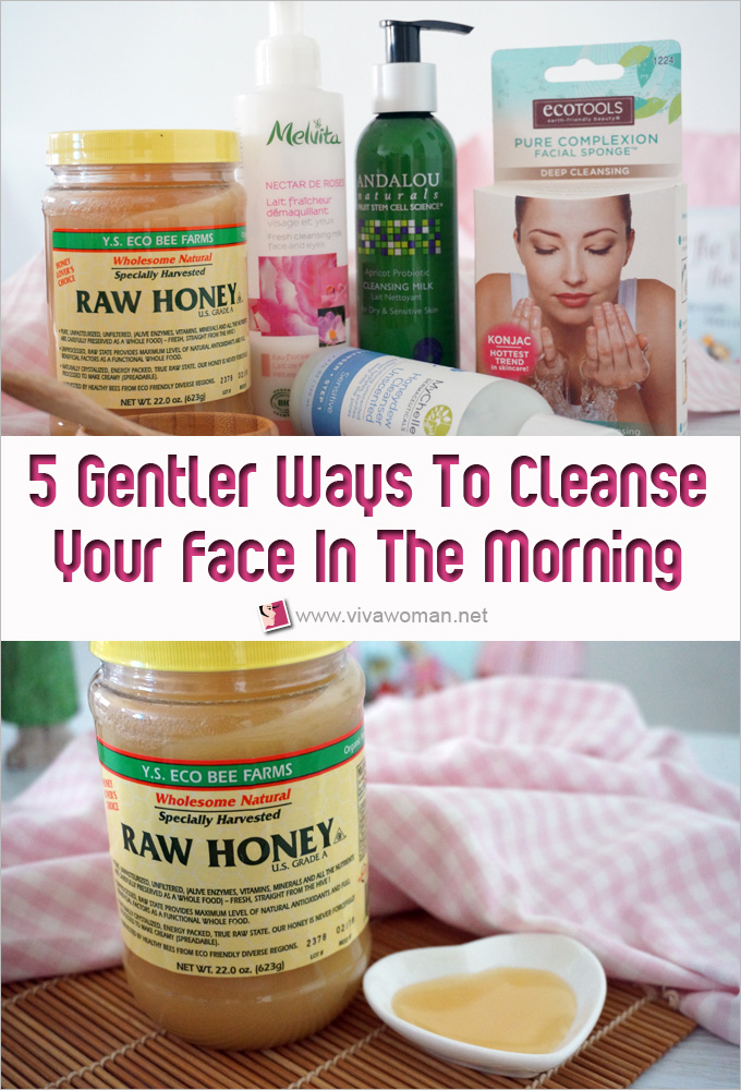 5 Gentler Ways To Cleanse Your Face In The Morning