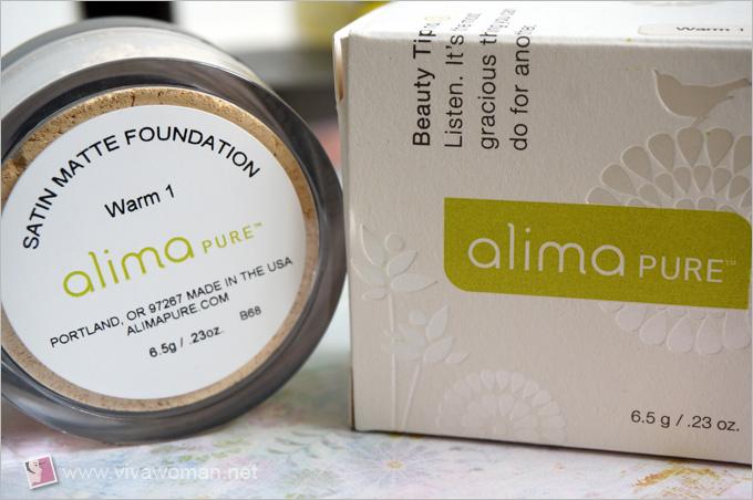 Alima Pure Mineral Foundation