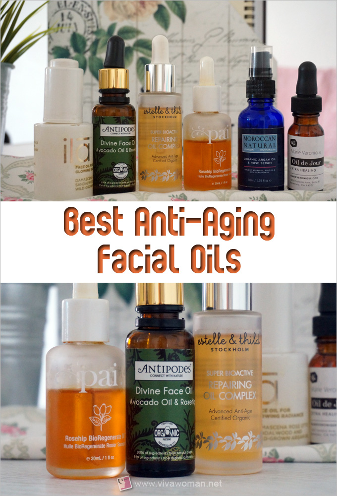 Best Anti-Aging Facial Oils
