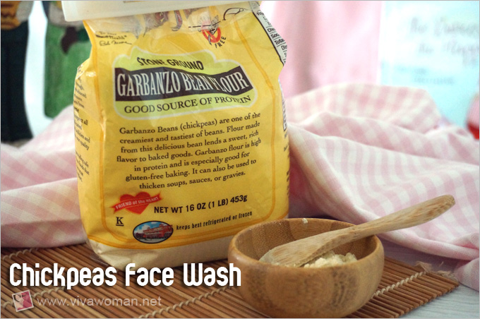Chickpeas Face Wash For Morning