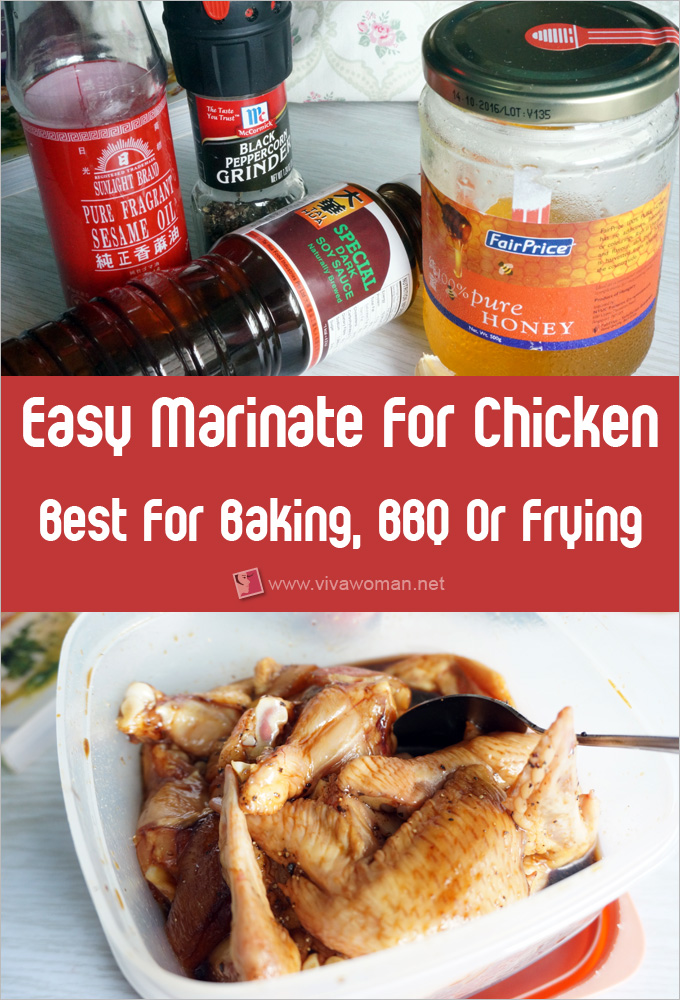 How To Marinate Tasty Chicken Wings For Baking, BBQ And Frying