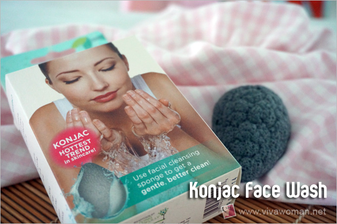 Konjac Sponge Face Wash For Morning