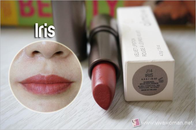 Alima Pure Velvet Lipstick Iris