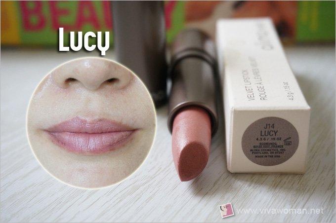 Alima Pure Velvet Lipstick Lucy