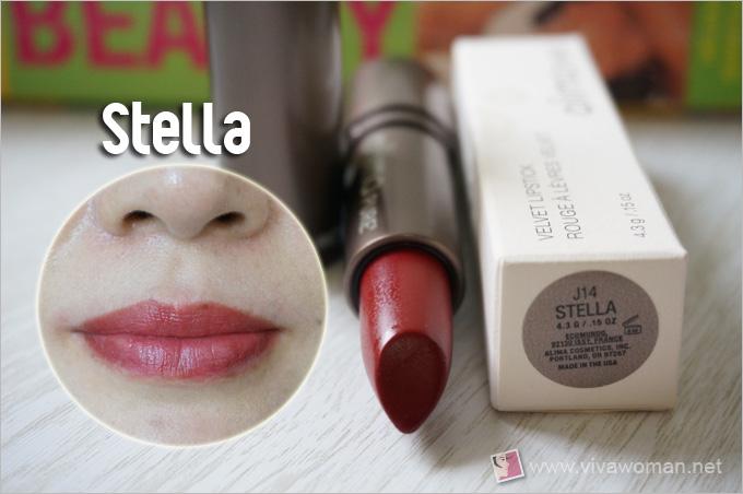Alima Pure Velvet Lipstick Stella