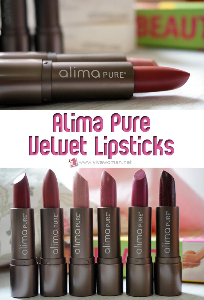Alima Pure Velvet Lipsticks