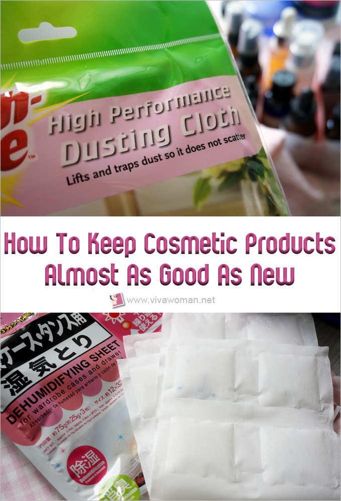 How to keep cosmetic products almost as good as new