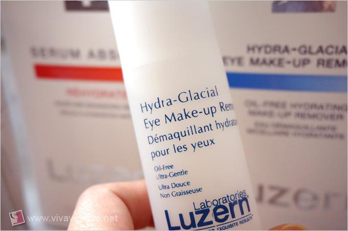 Luzern Hydra-Glacial Eye Makeup Remover