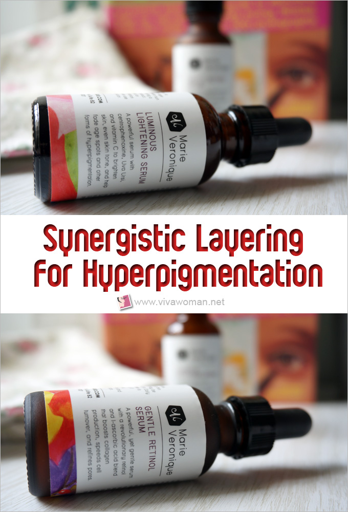 Synergistic Layering Skin Care Treatment For Hyperpigmentation