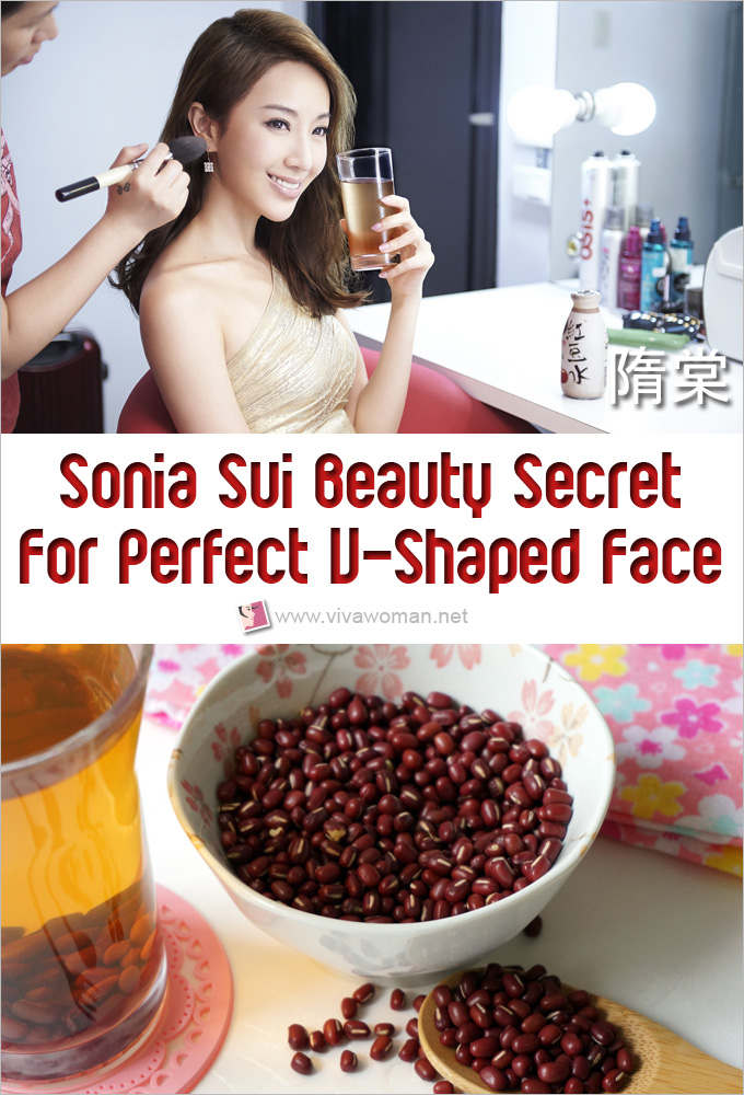 Sonia Sui Beauty Secret Is To Drink Red Bean Water For Perfect V-Shaped Face