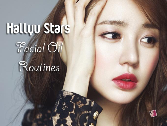 Hallyu Stars Facial Oil Skincare Routine