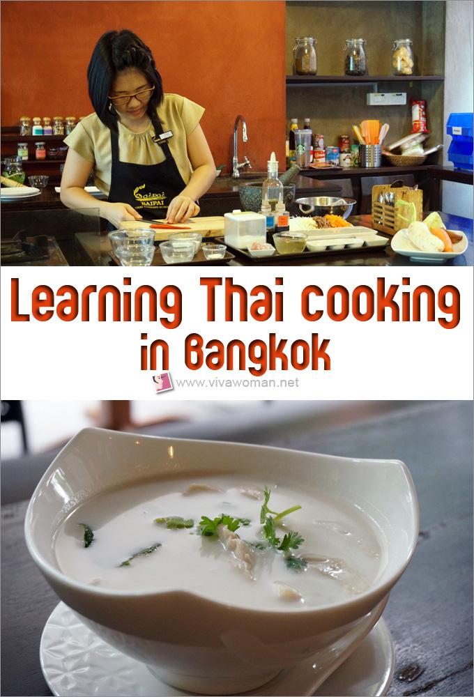 Learning Thai Cooking In Bangkok